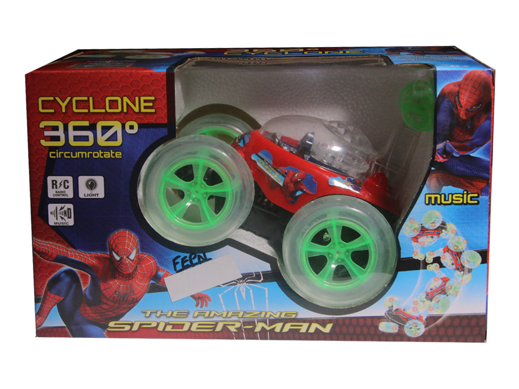 Spiderman cyclone ba…